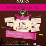 Vin & Chocolat au domaine St Laurent de Saurs (c) Domaine st Laurent de saurs