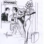 Dessin de Claude Ferran (c) Musée Raymond Lafage