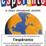 Lavaur ciné-débat Esperanto (c) ciné-club L'adulciné et Esperanto Tarn