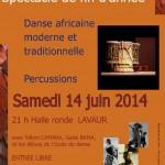 Lavaur Spectacle de danse africaine (c) Ass EBENBAO