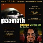 Pampelonne Musique africaine (c) Issiminta