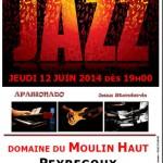 Peyregoux diner jazz (c) Domaine du Moulin Haut