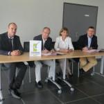 Signature de la Convention entre CCI TARN et CC SOR ET AGOUT / © CCI du Tarn