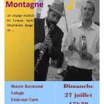 Concert Duo de notre montagne (c) Musée Raymond Lafage