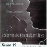 Dominik Mouton Trio (c) Nos Notes