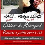 Massaguel Concert de Jazz Classique (c) Association Les Amis du Château de Massaguel