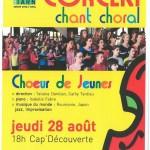 Concert chant choral choeur de jeunes (c) Conservatoire de Musique & Danse du Tarn