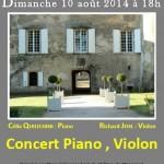 Concert de Musique Classique (c) Les Amis du Château de Massaguel