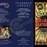 Delirium Pantoufles (c) Compagnie Cirkulez
