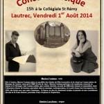 Lautrec Concert classique (c) Office de Tourisme de Lautrec