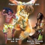 Cours de danses et percussions africaines (c) association amounia ziety