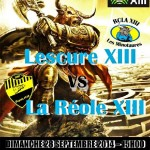Rugby XIII Championnat Elite 2 (c) RCLA XIII