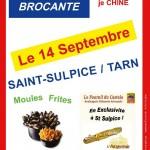 Saint Sulpice vide grenier (c) Saint-Sulpice Les 3 clochers