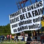 Barrage de Sivens, Grève de la faim / © Le Collectif pour la sauvegarde de la zone humide du Testet