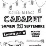 Soirée resto Cabaret (c) Association Calandreta del Galhaguès