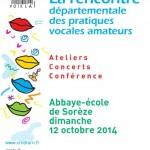 Rencontre départementale vocale (c) ADDA - Conservatoire