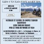 Albi Autour du Monde à vélo... (c) Maison de l'Amitié