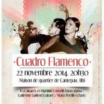 Albi cuadro flamenco (c) association Flamenco Pour Tous