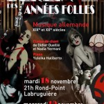 Berlin des Années Folles ! (c) Conservatoire de Musique et de Danse du Tarn