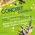 Concert Résonances (c) Conservatoire de Musique et de Danse du Tarn