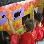 Gaillac atelier peinture africaine (c) Médiathèque de Gaillac