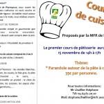 Peyregoux Cours de cuisine (c) Stéphane Lhuillier, MFR de Peyregoux