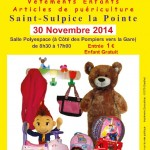 Saint Sulpice bourse aux jouets (c) Saint-Sulpice Les 3 clochers