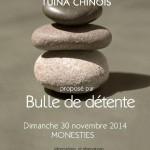 stage de massage chinois (Tui na) (c) Bulle de Détente
