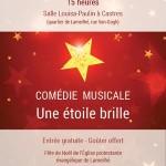 Comédie musicale - Une étoile brille. (c) église protestante évangélique de Lameilhé.