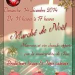 Marché de Noël (c) Mairie de Fiac