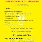 Puycelsi Reveillon de la st sylvestre 2014 (c) Comité des fêtes