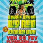 Soirée ragga :Big Red, General Levy (c) Pollux Association