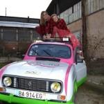 4L trophy : Elise Malgouyres et Lucie Sourzat (c) Mairie de Carmaux