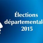 Élections départementales Mars 2015
