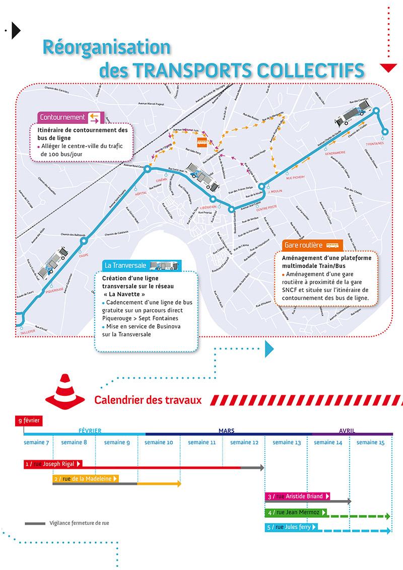 Gaillac, Réorganisation-des transports collectifs / © Ville de Gaillac