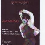 ANDANZAS - Spectacle flamenco (c) CASA D'ESPAGNE DE CASTRES