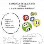 loto du comité des fetes de Grazac 81 (c) comité des fêtes de Grazac