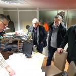 Les élus de Tarn & Dadou à la rencontre des entreprises / © Ted