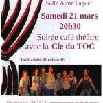 Café-Théâtre avec la Cie du TOC (c) ACTCLV