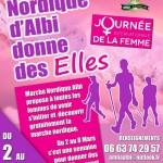 Marche Nordique Albi donne des ELLES (c) Marche Nordique Albi