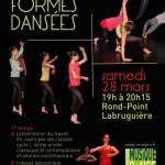 Petites formes dansées (c) Conservatoire de Musique et de Danse du Tarn