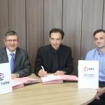 Une convention signée entre EDF et la CCI du Tarn / © CCI 81