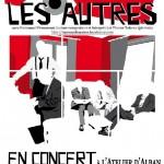 Concert Chanson avec le duo Les Autres (c) L'Atelier d'Alban