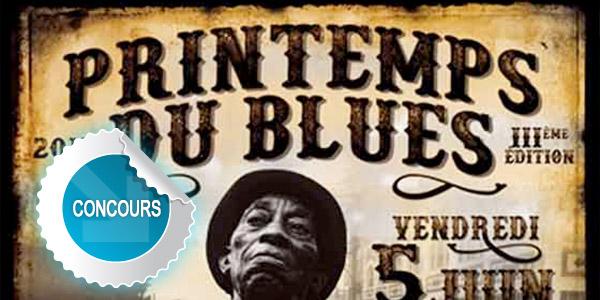 Gagnez des places pour le festival Printemps du Blues 2015 à Carmaux - Concours DTT