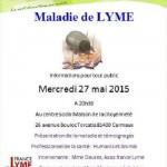 Conférence sur la maladie de Lyme (c) association France Lyme