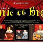 Le duo Bric et Broc (c) Prod Cabournas Cie