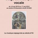 Stage de musique vocale (c) Ensemble vocal CLIZIA - Association Chiome d'
