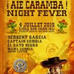 Festival Les arts scenics 2015, Soirée Aie Caramba! Night Fever