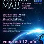 Concert Sunrise Mass d'Ola Gjeilo (c) Conservatoire de Musique et de Danse du Tarn