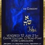 Isha, Concert de musique du monde (c) Le Rond-Point